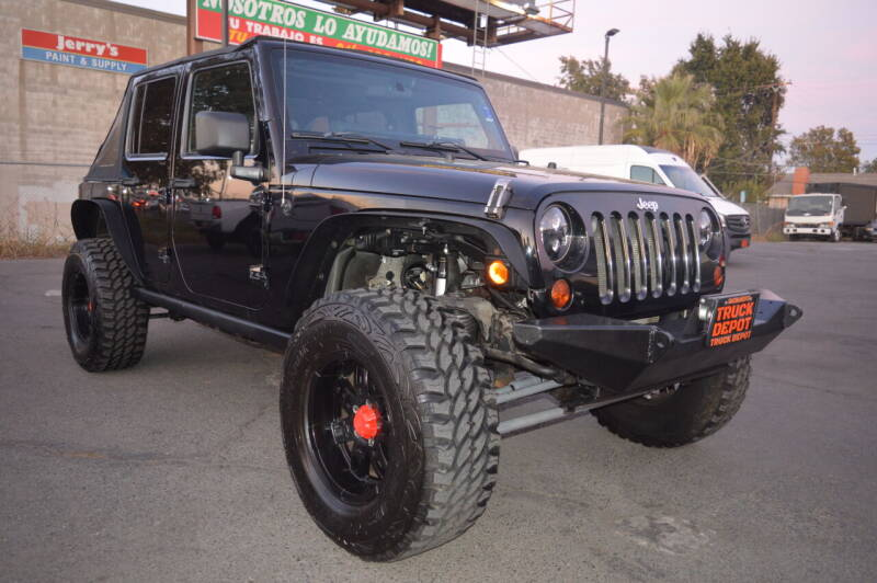 2008 Jeep Wrangler Unlimited for sale at Sac Truck Depot in Sacramento CA