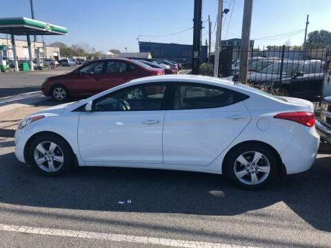 2013 Hyundai Elantra for sale at Debo Bros Auto Sales in Philadelphia PA