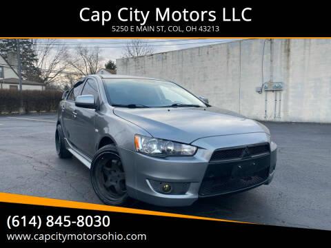 2013 Mitsubishi Lancer for sale at Cap City Motors LLC in Columbus OH