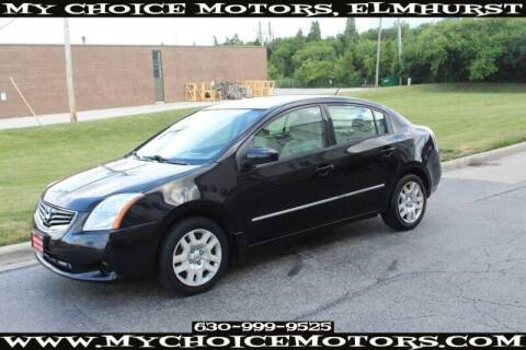 2010 Nissan Sentra for sale at My Choice Motors Elmhurst in Elmhurst IL