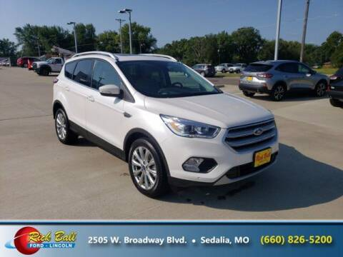 2018 Ford Escape for sale at RICK BALL FORD in Sedalia MO