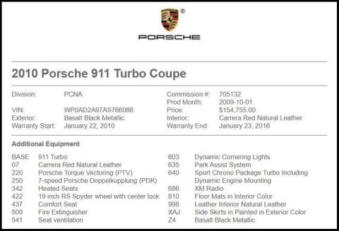 2010 Porsche 911 for sale at RAC Performance in Carrollton TX