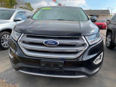 2017 Ford Edge for sale at BEST AUTO SALES in Russellville AR