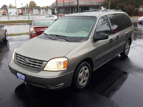 2004 Ford Freestar for sale at Premier Auto Sales Inc. in Newport News VA