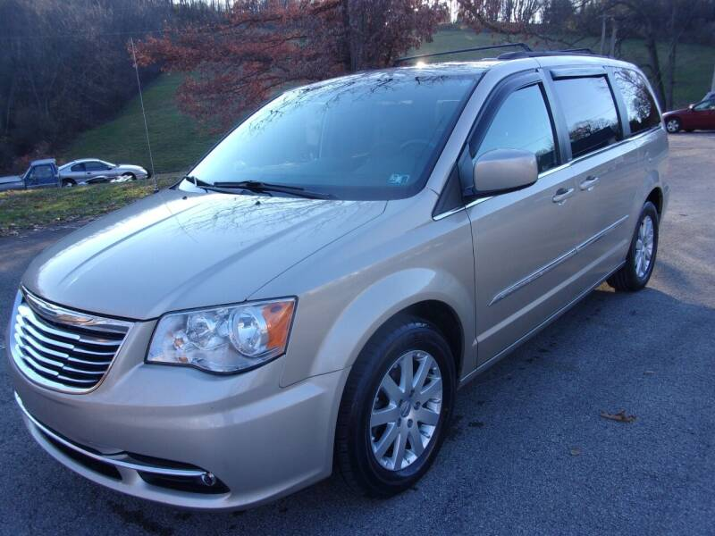 2014 Chrysler Town and Country for sale at Pyles Auto Sales in Kittanning PA