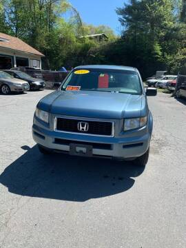 2007 Honda Ridgeline for sale at ALAN SCOTT AUTO REPAIR in Brattleboro VT