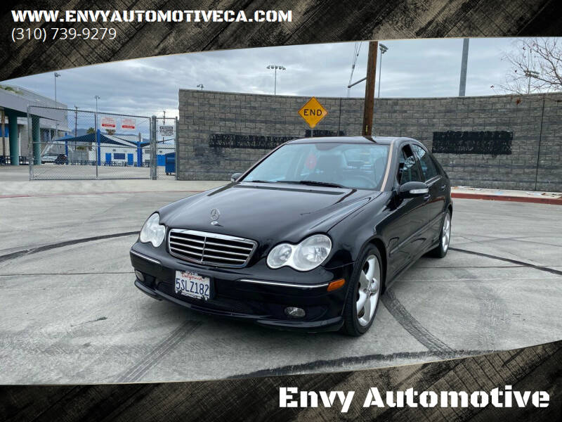 2006 Mercedes-Benz C-Class for sale at Envy Automotive in Studio City CA