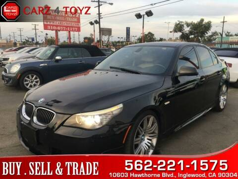 2010 BMW 5 Series for sale at Carz 4 Toyz in Inglewood CA