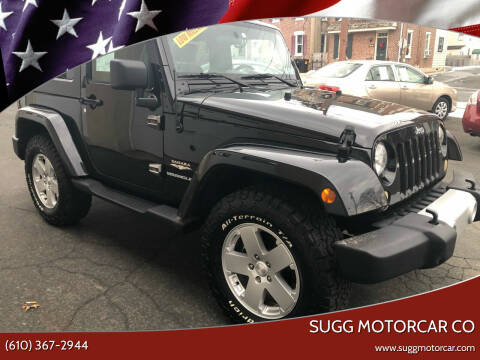 2010 Jeep Wrangler for sale at Sugg Motorcar Co in Boyertown PA