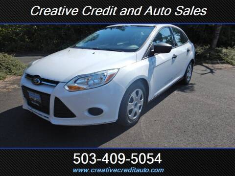 2014 Ford Focus for sale at Creative Credit & Auto Sales in Salem OR