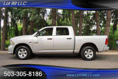 2016 RAM Ram Pickup 1500 for sale at LOT 99 LLC in Milwaukie OR