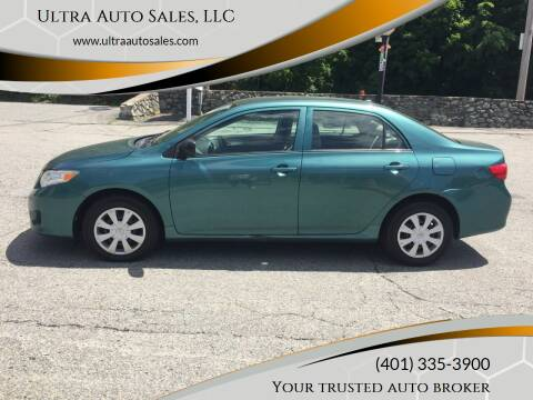 2009 Toyota Corolla for sale at Ultra Auto Sales, LLC in Cumberland RI