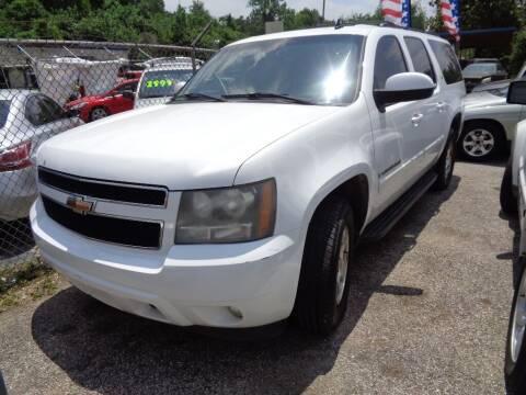 2008 Chevrolet Suburban for sale at SCOTT HARRISON MOTOR CO in Houston TX