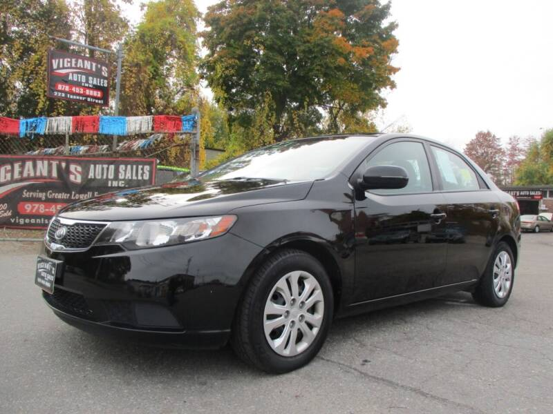2012 Kia Forte for sale at Vigeants Auto Sales Inc in Lowell MA