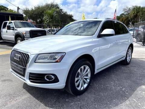 2013 Audi Q5 for sale at EZ Own Car Sales of Miami in Miami FL