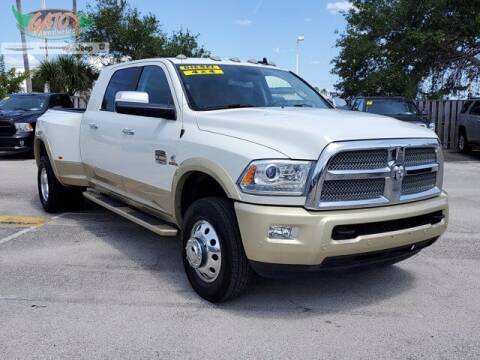 2016 RAM Ram Pickup 3500 for sale at GATOR'S IMPORT SUPERSTORE in Melbourne FL