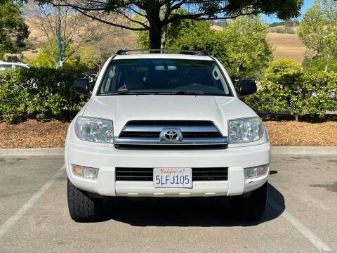 2005 Toyota 4Runner for sale at CARFORNIA SOLUTIONS in Hayward CA