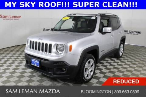 2017 Jeep Renegade for sale at Sam Leman Mazda in Bloomington IL