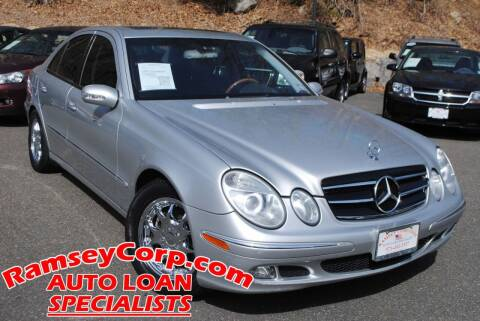 2003 Mercedes-Benz E-Class for sale at Ramsey Corp. in West Milford NJ