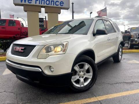 2012 GMC Acadia for sale at American Financial Cars in Orlando FL