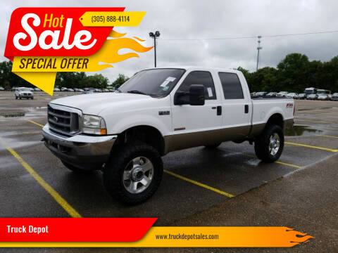 2004 Ford F-250 Super Duty for sale at Truck Depot in Miami FL