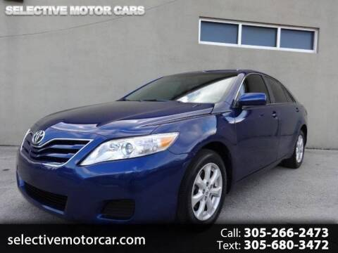 2011 Toyota Camry for sale at Selective Motor Cars in Miami FL