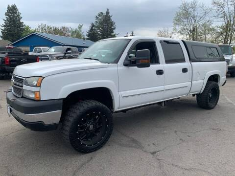 2005 Chevrolet Silverado 2500HD for sale at South Commercial Auto Sales in Salem OR