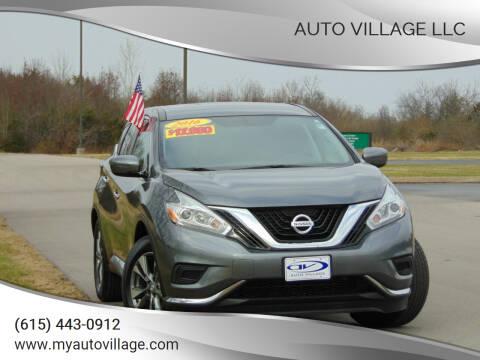 2016 Nissan Murano for sale at AUTO VILLAGE LLC in Lebanon TN