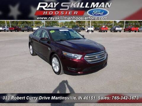 2019 Ford Taurus for sale at Ray Skillman Hoosier Ford in Martinsville IN