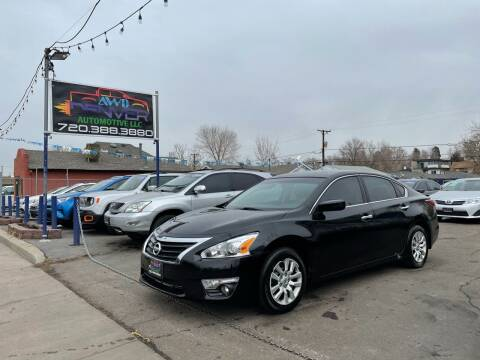 2014 Nissan Altima for sale at AWD Denver Automotive LLC in Englewood CO