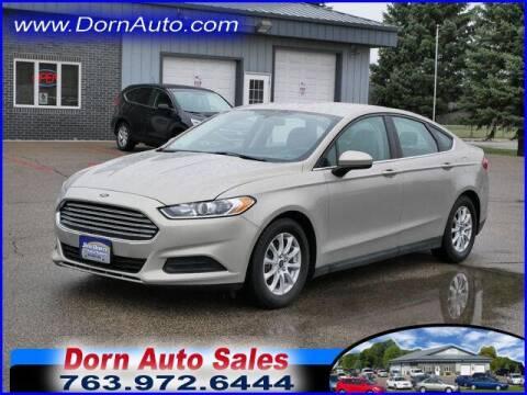 2015 Ford Fusion for sale at Jim Dorn Auto Sales in Delano MN