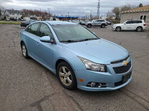 2012 Chevrolet Cruze for sale at BETTER BUYS AUTO INC in East Windsor CT