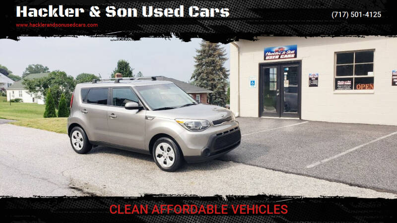 2014 Kia Soul for sale at Hackler & Son Used Cars in Red Lion PA