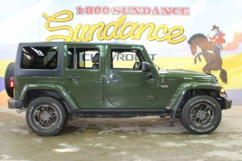 2016 Jeep Wrangler Unlimited for sale at Sundance Chevrolet in Grand Ledge MI