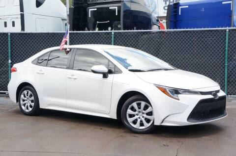 2020 Toyota Corolla for sale at MATRIX AUTO SALES INC in Miami FL