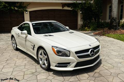 2015 Mercedes-Benz SL-Class for sale at Premier Auto Group of South Florida in Wellington FL