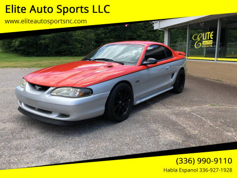 1998 Ford Mustang for sale at Elite Auto Sports LLC in Wilkesboro NC