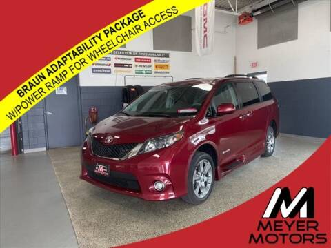2014 Toyota Sienna for sale at Meyer Motors in Plymouth WI