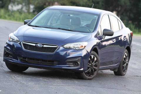 2018 Subaru Impreza for sale at P M Auto Gallery in De Soto KS