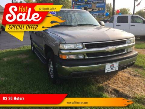 2003 Chevrolet Suburban for sale at US 30 Motors in Merrillville IN