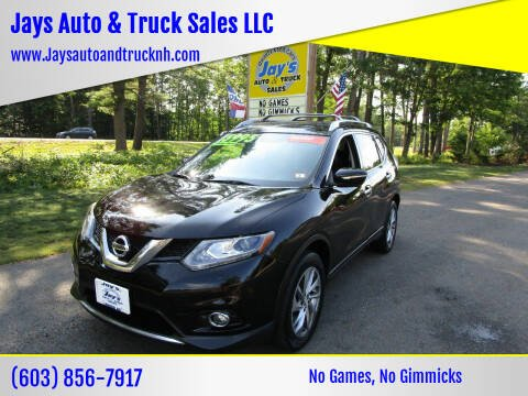 2014 Nissan Rogue for sale at Jays Auto & Truck Sales LLC in Loudon NH