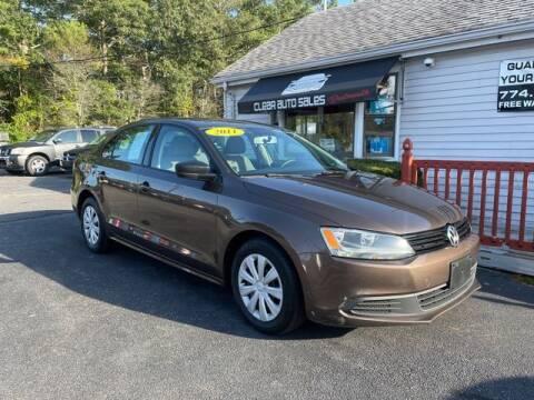 2011 Volkswagen Jetta for sale at Clear Auto Sales in Dartmouth MA