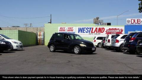 2008 Chrysler PT Cruiser for sale at Westland Auto Sales on 7th in Fresno CA
