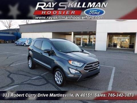 2019 Ford EcoSport for sale at Ray Skillman Hoosier Ford in Martinsville IN