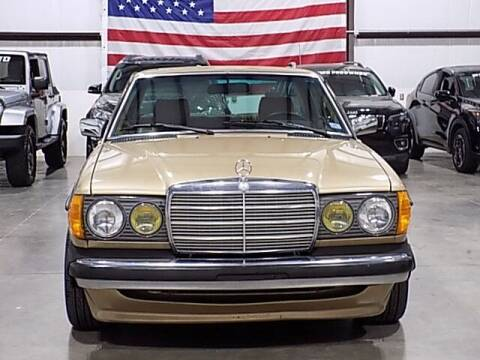 1985 Mercedes-Benz 300-Class for sale at Texas Motor Sport in Houston TX