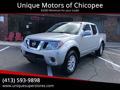 2019 Nissan Frontier for sale at Unique Motors of Chicopee in Chicopee MA