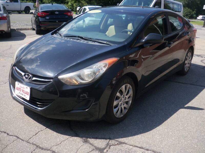 2012 Hyundai Elantra for sale at Charlies Auto Village in Pelham NH