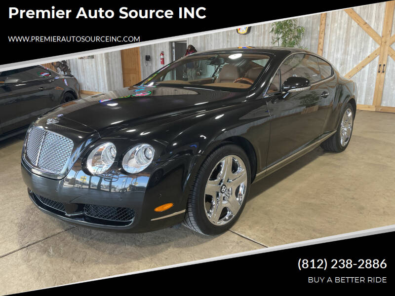 2006 Bentley Continental for sale at Premier Auto Source INC in Terre Haute IN