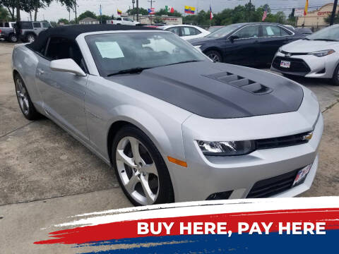 2015 Chevrolet Camaro for sale at USA Car Sales in Houston TX