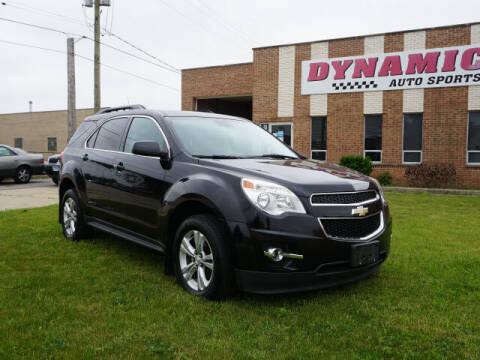 2013 Chevrolet Equinox for sale at DYNAMIC AUTO SPORTS in Addison IL